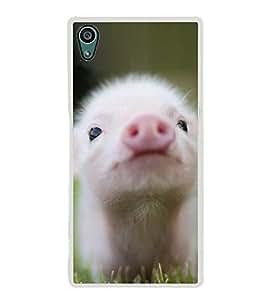 PrintVisa Micropig High Gloss Designer Back Case Cover for Sony Xperia Z5 :: Sony Xperia Z5 Dual