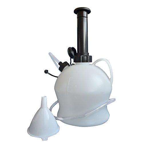 Ölabscheider Pumpe Kit Car Service Öl und Kältemittel Förderpumpe Abzieher 4 L