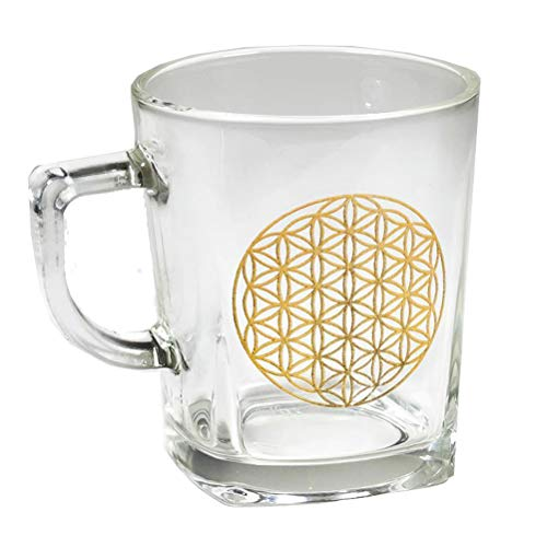 Tasse en verre Fleur de Vie