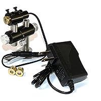 Ajustado rojo Diodo láser industrial 3V-5.5V 650nm 660nm 100mW láser Dot/línea/Cruz memoria enfocable 13mmx42mm con adaptador y disipador de calor