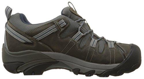 Keen Targhee Ii Wp, Chaussures de Randonnée Basses Homme Marron (Gargoyle / Midnight Navy)