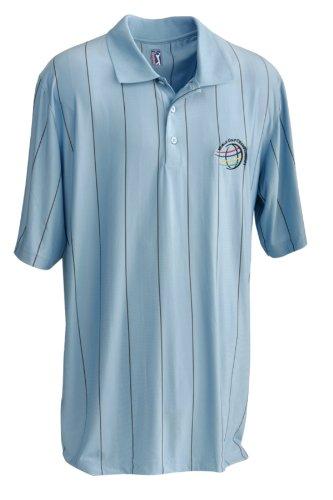 PGA TOUR Herren Polo Funktionshemd Tour Vista himmel blau