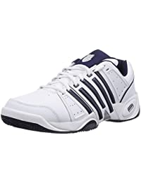 K-Swiss Performance Ks Tfw Accomplish Ltr-white/Navy/Silver-m - Zapatillas de tenis Hombre