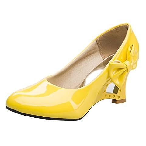 Blivener High Heel, Escarpins pour femme - jaune - jaune, 38 2/3