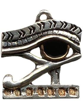 Auge des Horus Ägyptischer Anhänger Amulett Talisman Schmuck mit Halskette - Gesundheit, Kraft und Schutz