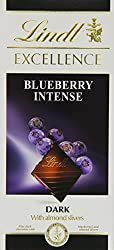 Lindt Excellence Blueberry Intense Chocolate 100 Grams - Imported; Premium Quality.