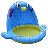ZXL Baby Aufblasbare Schwimmbad Wasser Park Brunnen Pinguin Planschbecken Piscina Tragbare Outdoor...