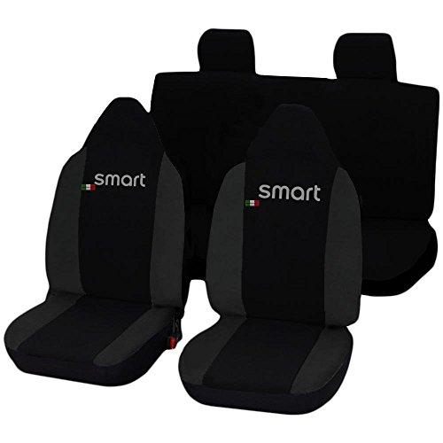 Lupex Shop Smart.Ff_N.Gs Coprisedili Auto Nero Grigio Scuro