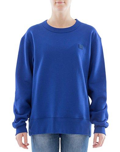 Acne Studios Damen 2Hl173inkblue Blau Baumwolle Sweatshirt (Acne Pullover)