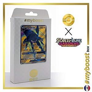Lucanon-GX (Vikavolt-GX) 134/145 Full Art - #myboost X Soleil & Lune 2 Gardiens Ascendants - Box de 10 Cartas Pokémon Francés