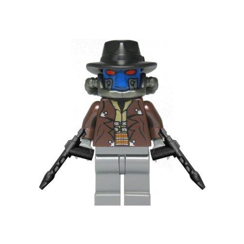 Custom Minifigur aus LEGO Star Wars Bauteilen: Cad Bane mit Spezialblastern der Kopfgeldjäger, Duros-Kopfgeldjäger - Lego Wars Star Custom