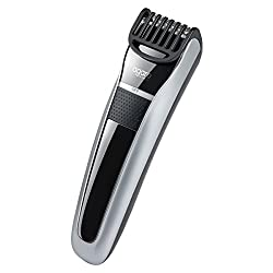 Agaro MT-5001 Cordless Beard Trimmer with USB Charger (Gray)