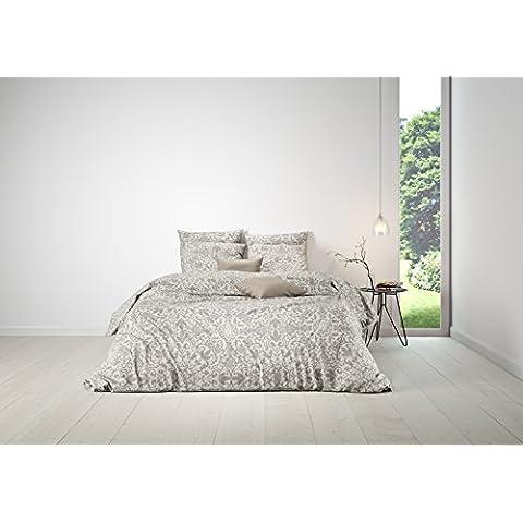 Mistral Home biancheria da letto Arabesque dove grey 2x 80x 80+ 1x 200x 200cm (120942)
