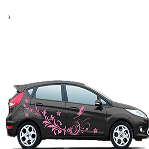 AITU Auto Aufkleber Auto Vinyl Aufkleber Wasserdicht Natürliche Blume Auto Styling Körper