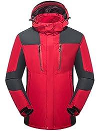Zhhlinyuan Outdoor Softshell Hooded Fitness Outwear 2 in 1 Mens Deportes Waterproof Jacket