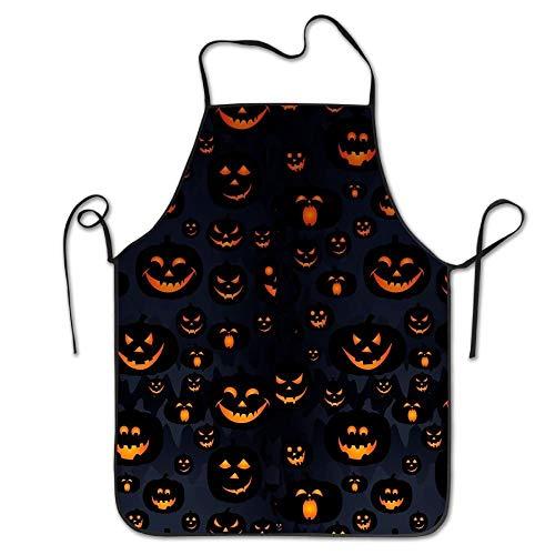 j65rwjtrhtr Unisex Küche Schürzes Halloween Chef Schürze Cooking Schürze Barbecue Schürzes