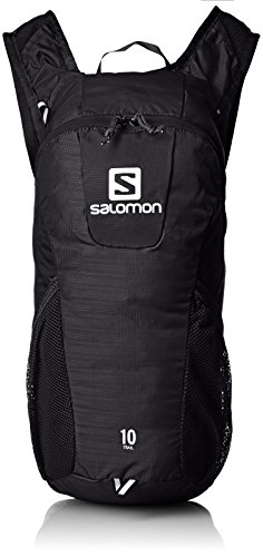 Salomon Trail 10 Backpack, Unisex Adulto, Negro, 46 cm
