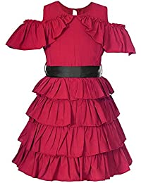 Naughty Ninos Crepe Pleated Dress