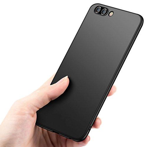 Schwarz Dünn Weich TPU Silikon Hülle Schutzhülle Slim Case + Displayschutzfolie für Huawei Honor View 10 / Honor V10 Vooway® MS50133