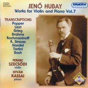 Jeno hubay œuvres pour violon & piano (intégrale, volume 7)