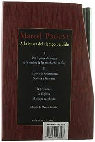A la busca del tiempo perdido: Estuche con los tres tomos par Marcel Proust
