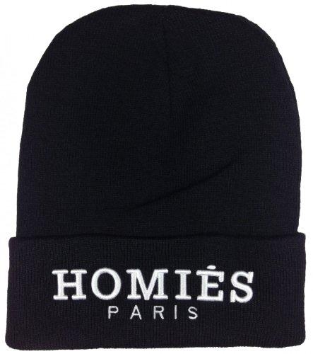 homies-paris-mutze-beanie-hermes-beanies-mutzen-homies-farbeschwarz