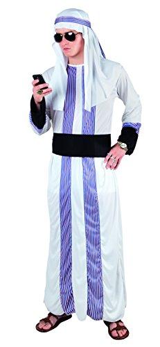 Arabische Kostüm Geld - Boland 83840 Karnevalskostüm, weiß, M/L