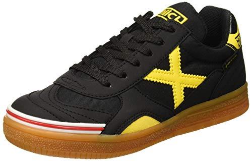 Munich Gresca Kid 02 S, Zapatillas de Deporte para Niños, Negro/Amarillo 606, 33 EU
