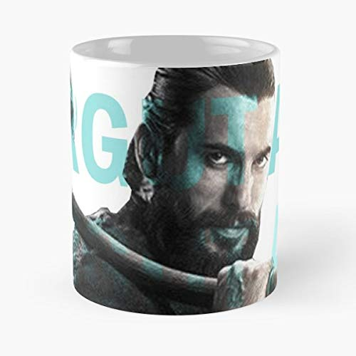 Dirilis Ertugrul The Revival Turkish Turkey Serie Action Famous Medieval Swords Vector - Bestes 11 Unze-Keramik-Kaffeetasse Geschenk -