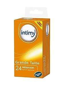 Intimy Grande Taille 24 Préservatifs