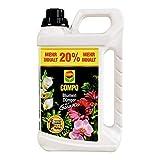 Compo Blumendünger mit Guano für alle Zimmer-, Balkon- und Terrassenpflanzen, Spezial-Flüssigdünger, (2 x 3 L)