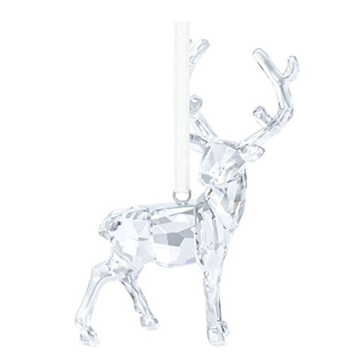 Swarovski 5135847 Hirsch Ornament, 7,2 x 4,5 x 2 cm