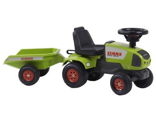 Falquet & Cie 957B Rutscher Claas Celtis 426RX - Tractor correpasillos con remolque