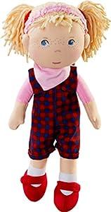 HABA 303665 Accesorio para muñecas - Accesorios para muñecas (1.5 yr(s),, Polyester, Girl, 85 mm, 170 g)