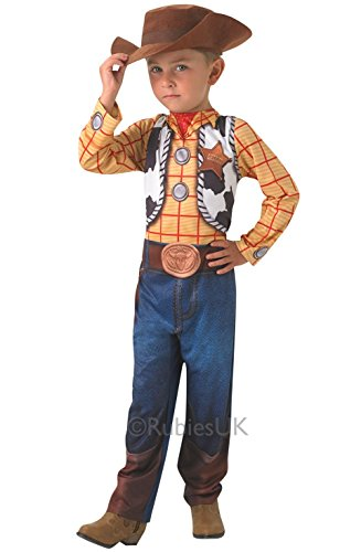 Woody Classic - Toy Story - Kinder-Kostüm - Medium - 116cm (Woody Toy Story Kostüm Zubehör)