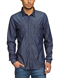 Cross Jeans - Chemise en jeans - Homme