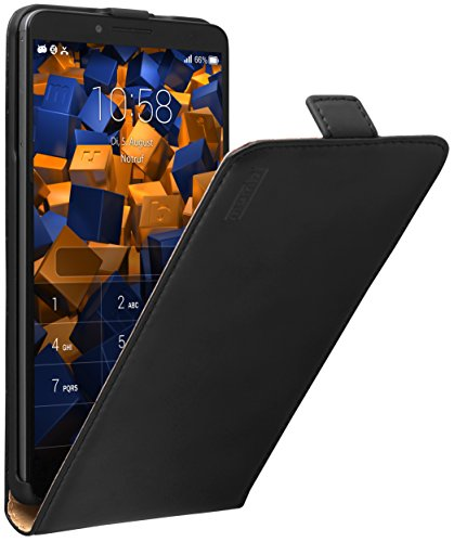 mumbi PREMIUM Leder Flip Case Huawei Ascend Mate 7 Tasche