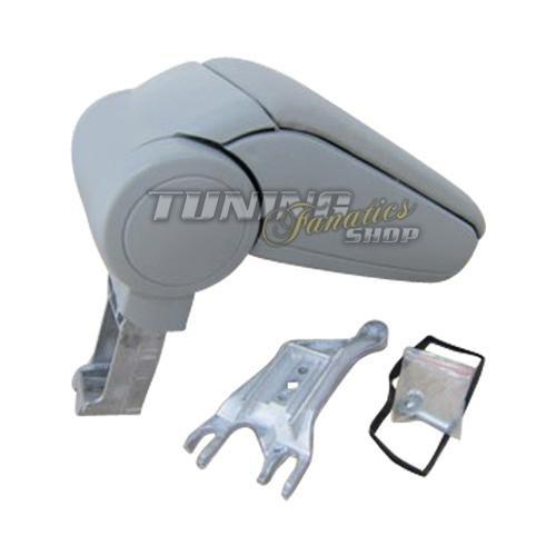 Preisvergleich Produktbild Mittelarmlehne / Mittel-Armlehne mit klappbarem staufach / Mittel-konsole Leder Fahrzeugspezifisch [Farbe: GRAU]