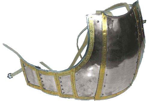 Brust- und Rückenplatte der Churburg Rüstung / Mittelalterliche Ritter Reenactment Historische Rüstung (Rüstung Mittelalterliche Kostüm)