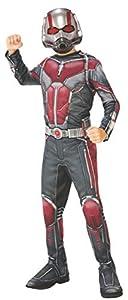 """Marvel - Disfraz de Ant Man """"El Hombre Hormiga"""" para niño, infantil 5-7 años (Rubie"""