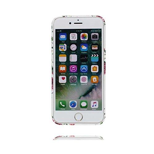 iPhone 6s Custodia, | TPU Case Cover protettiva antiurto TPU Resistente ai graffi Shell Skin | Giovane modello | Copertura per iPhone 6/6S - giallo fiore Flower - Per ragazze signore Color 2