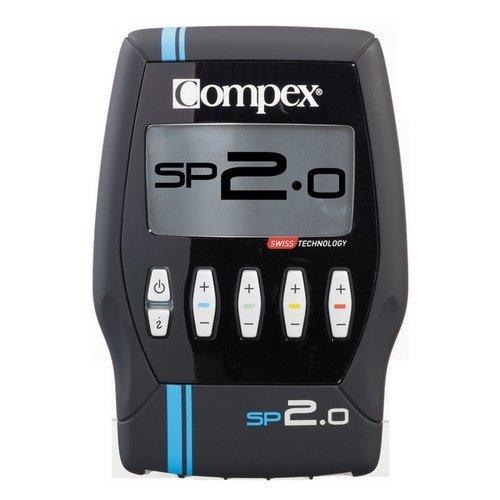Compex Set SP2.0 MULTILINGUAL EU Plug, Unisex, Negro