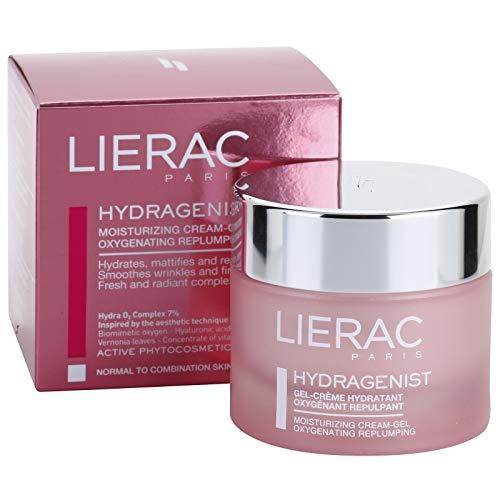 LIERAC HYDRAGENIST  Gel-crema ossigenante-idratante-rimpolpante-opacizzante - MAT - Pelle da normale a mista - Acido Ialuronico - Viso - 50ml