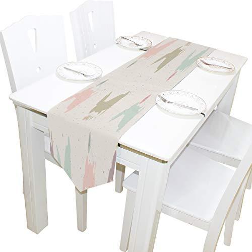 Design Kommode Schal Tuch Abdeckung Tischläufer Tischdecke Tischset Küche Esszimmer Wohnzimmer Home Hochzeitsbankett Decor Indoor 13x90 Zoll ()