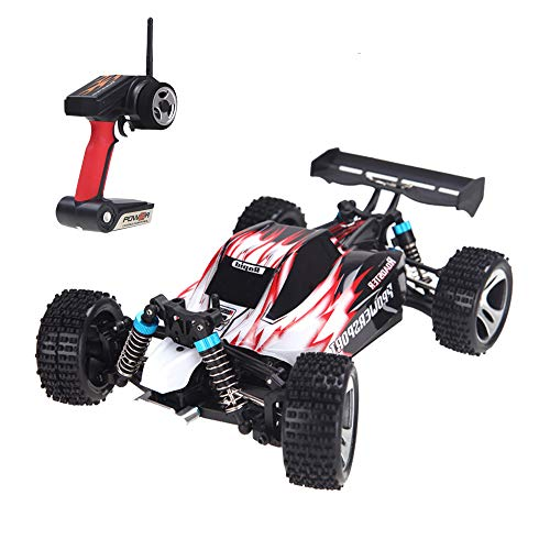 Goolsky Wltoys A959 1/18 1:18 Scale 2.4 g 4WD RTR Off-Road Buggy RC Voiture (Wltoys A959 voiture; 1/18 Off-Road Buggy)
