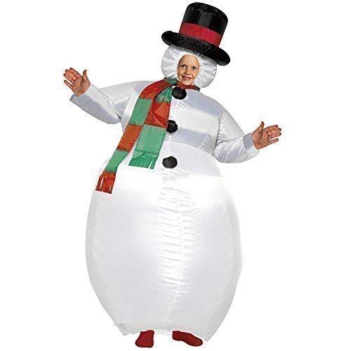 Kostüm Schneemann Zubehör - Kostüm Schneemann Aufblasbar Für Kinder Frosty Weihnachten Verkleidung