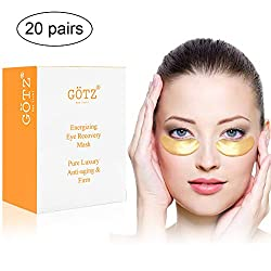 Eye Mask Gel Eye Pads Eye Patches Pads Herb Yard Eye Pad Eye Pads Dark Circles Eye Pads Hyaluronic Acid & Collagen Eye Bags Pads Hydrogel Eye Patch Under Eye Patches Collagen Mask (20 Pair)