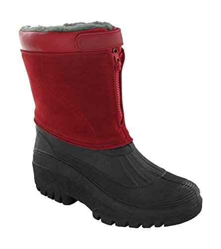 Mirak Venture Wasserdicht Damen Stiefel Frauen Wellingtons Textile Wellingtons Red 6WP0av8Q8