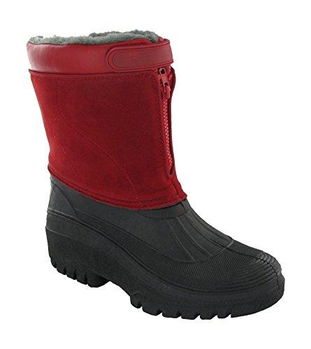 Mirak Venture Wasserdicht Damen Stiefel Frauen Wellingtons Textile Wellingtons Red 6WP0av8Q8