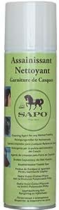 ASSAINISSANT & NETTOYANT SAPO POUR GARNITURE DE CASQUE & BOMBE D'ÉQUITATION
